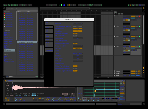 Sebse Theme for Ableton 10 by Zed