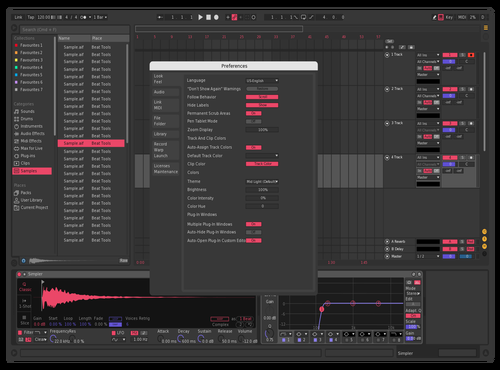 Mercurio Theme for Ableton 10 by pier