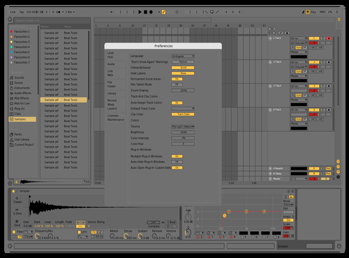 GRaysss Theme for Ableton 10 by Aldo Sepulveda