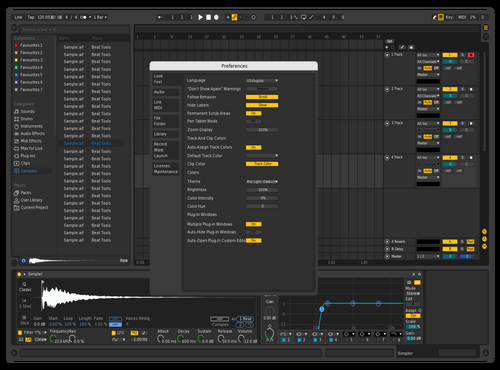 Logic Pro X Edited Theme for Ableton 10 by Will