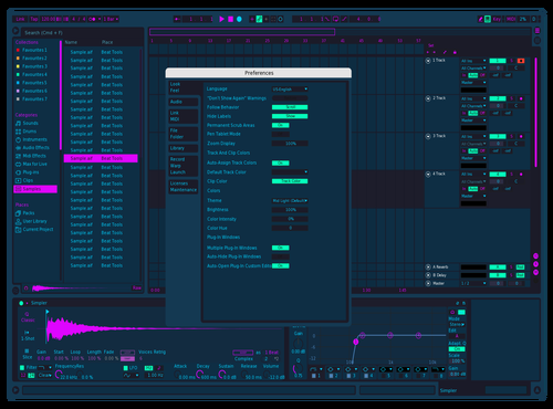 Solarized Theme for Ableton 10 by Aldo Sepulveda
