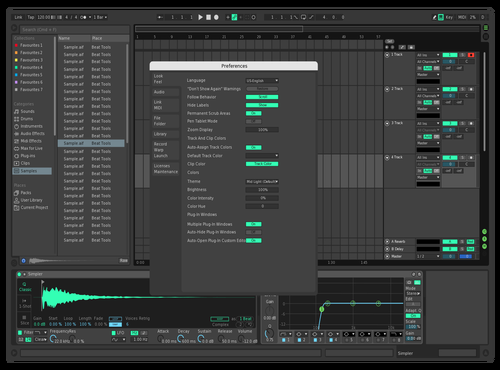 Dark-Green Theme for Ableton 10 by crazyRick
