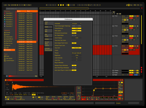 808light Theme for Ableton 10 by Kaix