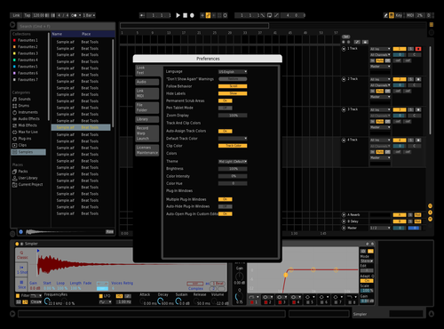 BRDArk Theme for Ableton 10 by Vicente santos