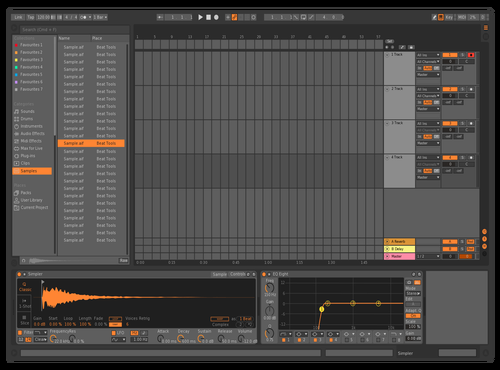 Bitwig Brighter Theme for Ableton 10 by Darren Davies