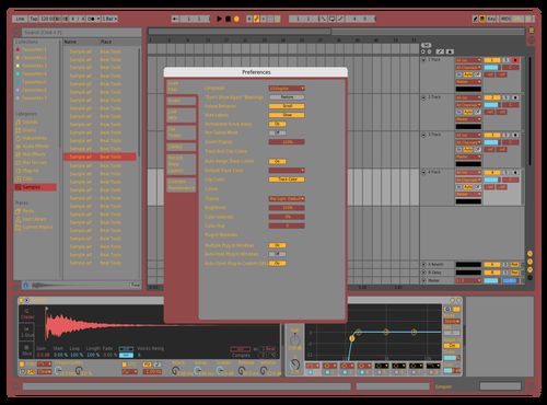 Mecha03 Theme for Ableton 10 by Luis