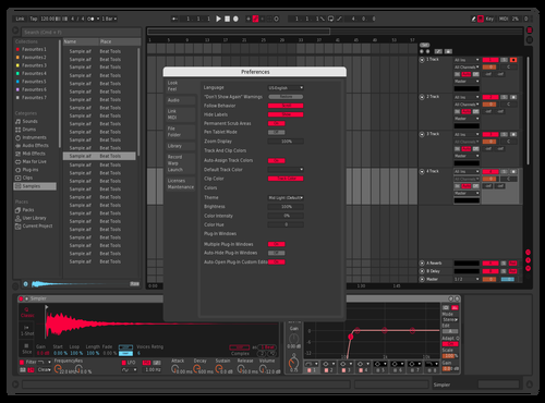 NUKLEON ABLETON THEME Theme for Ableton 10 by NUKLEON