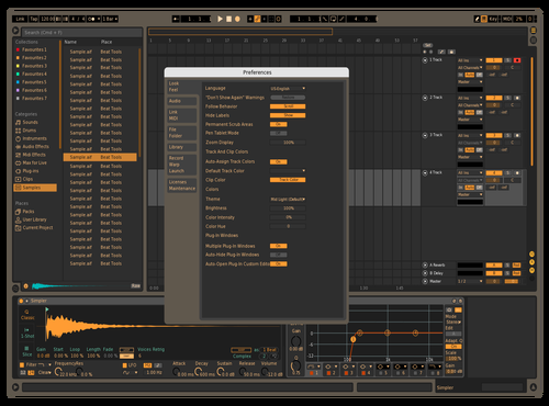VERSION I Theme for Ableton 10 by Leocel