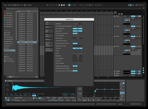 Minimal Theme for Ableton 10 by Mark