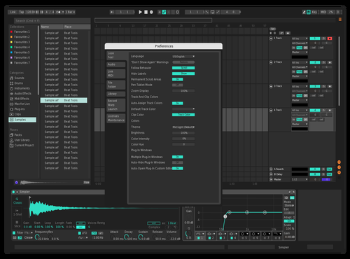 Bitwigish Theme for Ableton 10 by version.onee
