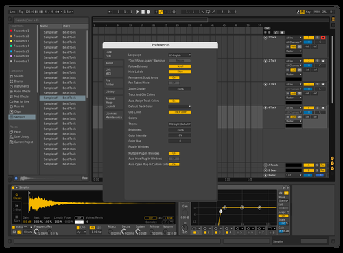 PureGold Theme for Ableton 10 by bm