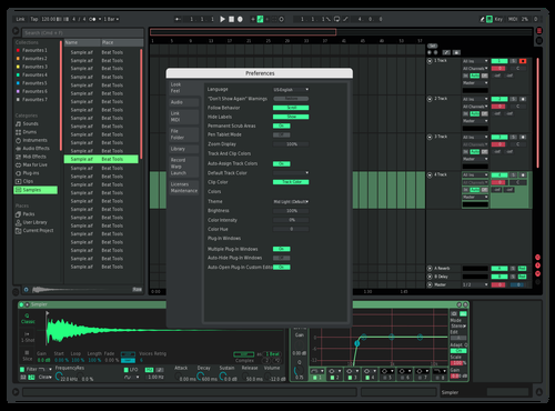 GRA Theme for Ableton 10 by Aung Lay MC