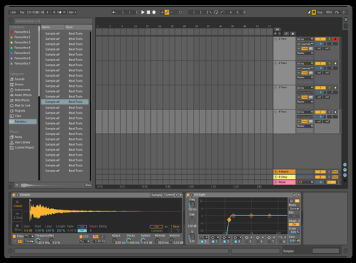 TEST 1 Theme for Ableton 10 by Kyle Heasman