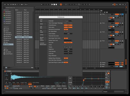 Observatory Darker Theme for Ableton 10 by Reaver
