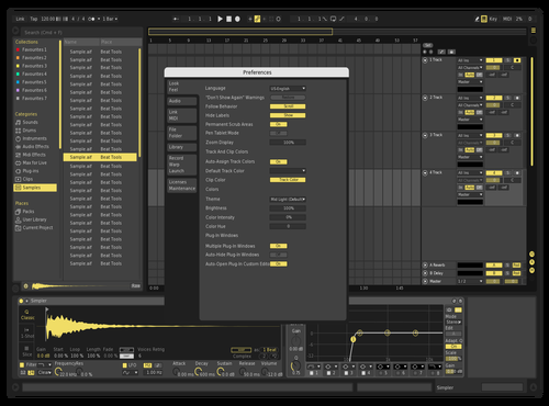 Lemonade Theme for Ableton 10 by akvma