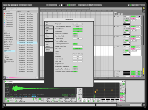 Cool theme Theme for Ableton 10 by Lucas