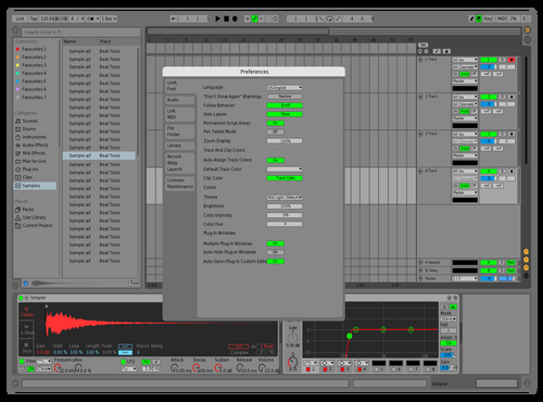 Sai 2 Theme for Ableton 10 by Sai