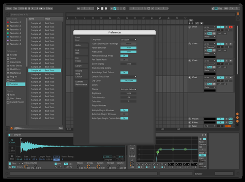 Dark Bit Theme for Ableton 10 by Kumo