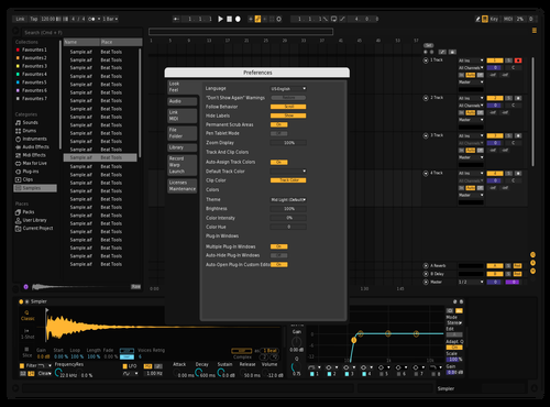 True Dark Theme for Ableton 10 by Prod by Sulky