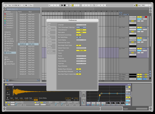 Light MGI Theme for Ableton 10 by mrgeniusidiot