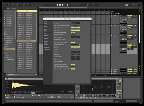 Gold Theme for Ableton 10 by shumail