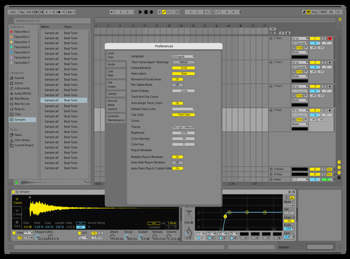 Microsoft Cleaner Slate Theme for Ableton 10 by Acxel
