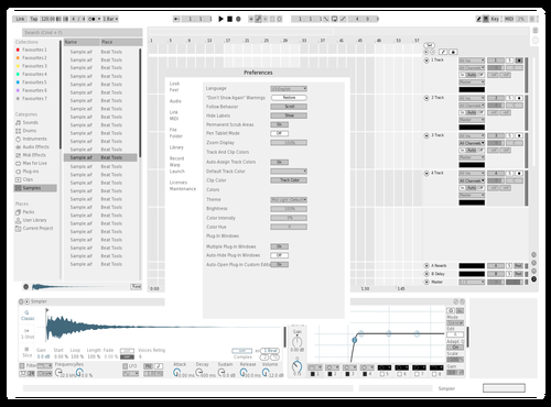 Removing red Theme for Ableton 10 by Letraset