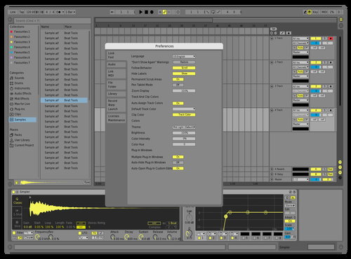 MarkedY Theme for Ableton 10 by david