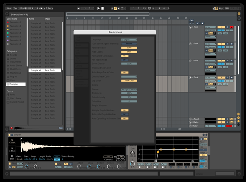 OS 2 Theme for Ableton 10 by alex