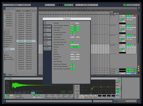 LIve 9 original theme Theme for Ableton 10 by SharanN