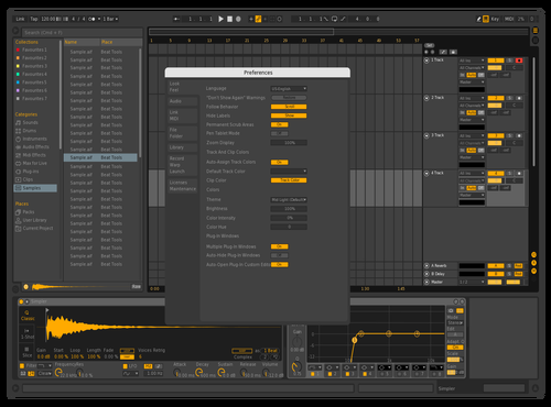 Dark99 Theme for Ableton 10 by david