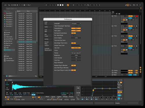 Ableton Dark + Theme for Ableton 10 by Charlie