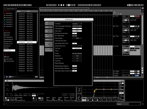 Colorblind v2 Theme for Ableton 10 by _pitchblvck_