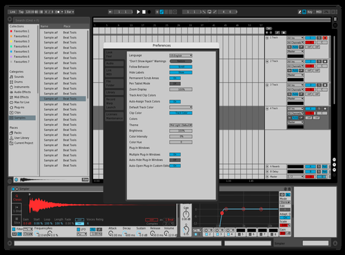 Kit kat Theme for Ableton 10 by KHALILSABHA