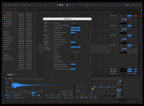 ModernX Theme for Ableton 10 by Alwin