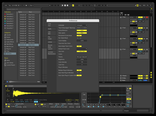 Adfdasf Theme for Ableton 10 by Gurney