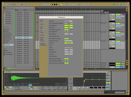 Mecha Theme for Ableton 10 by Luis