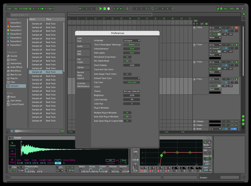 GA MDK 1.0 Theme for Ableton 10 by Geo Arceo