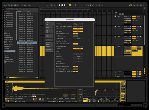 PORNHUB ABLETON Theme for Ableton 10 by AXUS