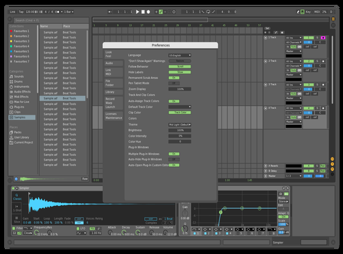 GRUE Theme for Ableton 10 by Kurt