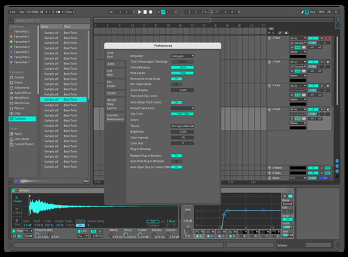INVENTOR NEON I Theme for Ableton 10 by Anderson Rodrigo