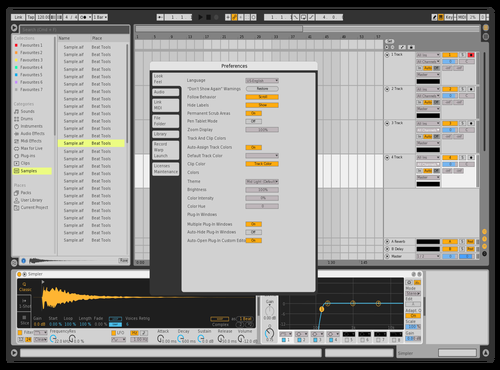 Grey Gray Theme for Ableton 10 by Bilaal Porter