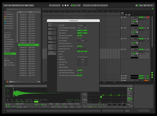 Greeeeen Theme for Ableton 10 by kaio