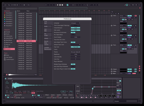 Pinky Theme for Ableton 10 by Christian Camarata