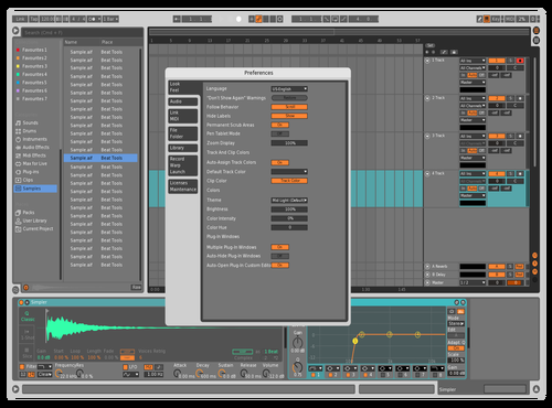 Some color Theme for Ableton 10 by Adam Gruschow