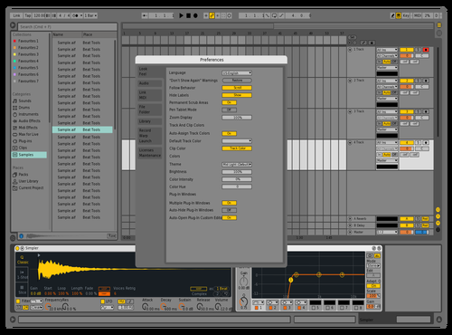 Live9rangeDisableTest Theme for Ableton 10 by Nauj