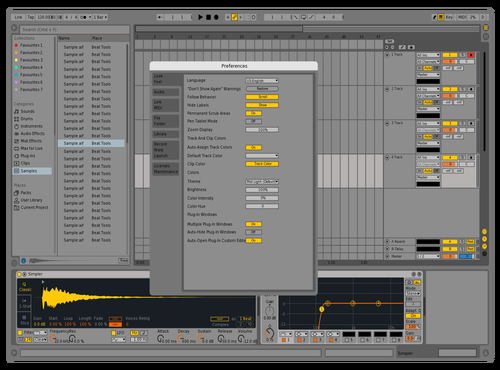 Ableton Live 9 Theme With Ableton 10 Colours Theme for Ableton 10 by Darren Davies