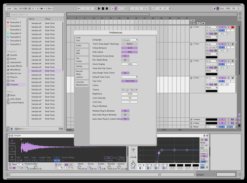 Purpleableton Theme for Ableton 10 by damian