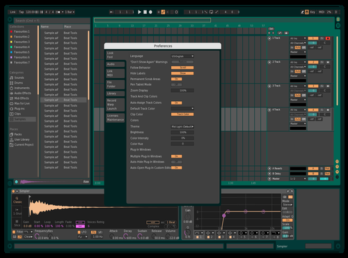 Conversion 5 Theme for Ableton 10 by Marco Viveros