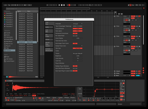 Artificial Theme for Ableton 10 by Christopher LaChance